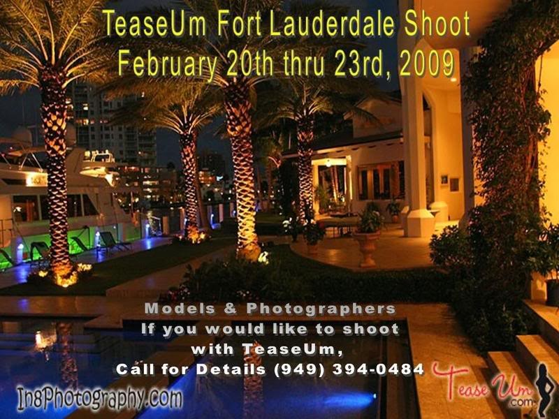 TeaseUm Ft. Lauderdale Shoot Event